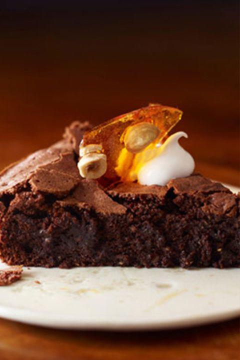 Dish, Food, Cuisine, Chocolate brownie, Chocolate cake, Cake, Dessert, Flourless chocolate cake, Chocolate, Ingredient,