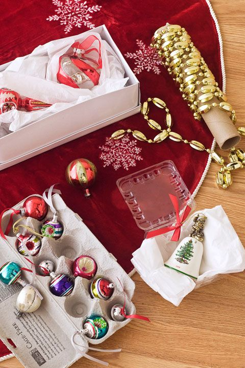 Christmas Decoration Storage Ideas - Packing Ideas