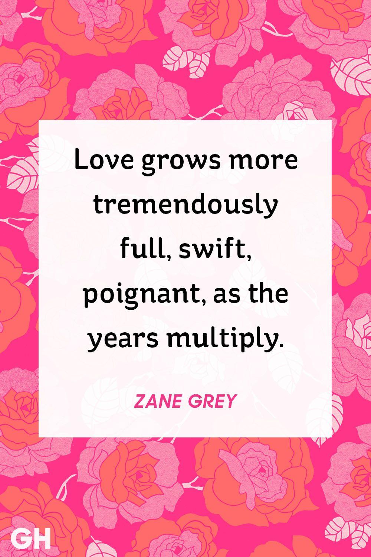 zane grey valentine's day quote