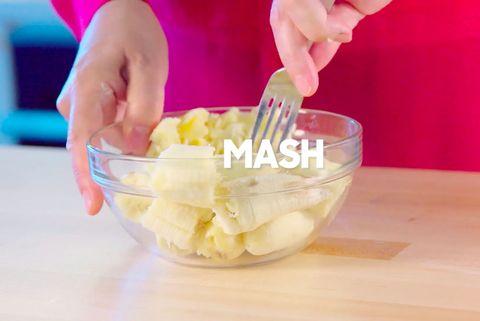 Food, Dish, Cuisine, Junk food, Ingredient, Fruit salad, Hand, Recipe, Cream, Apple,