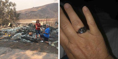 Hand, Soil, Rock, Human, Finger, Geology, Ring, Adaptation, Fashion accessory, Jewellery,