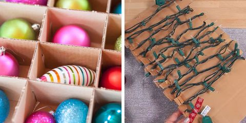 christmas decor organization - Organizing Christmas Decorations
