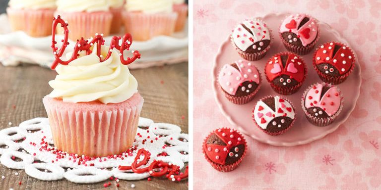 20 Cute Valentines Day Cupcakes Easy Cupcake Recipes to Celebrate