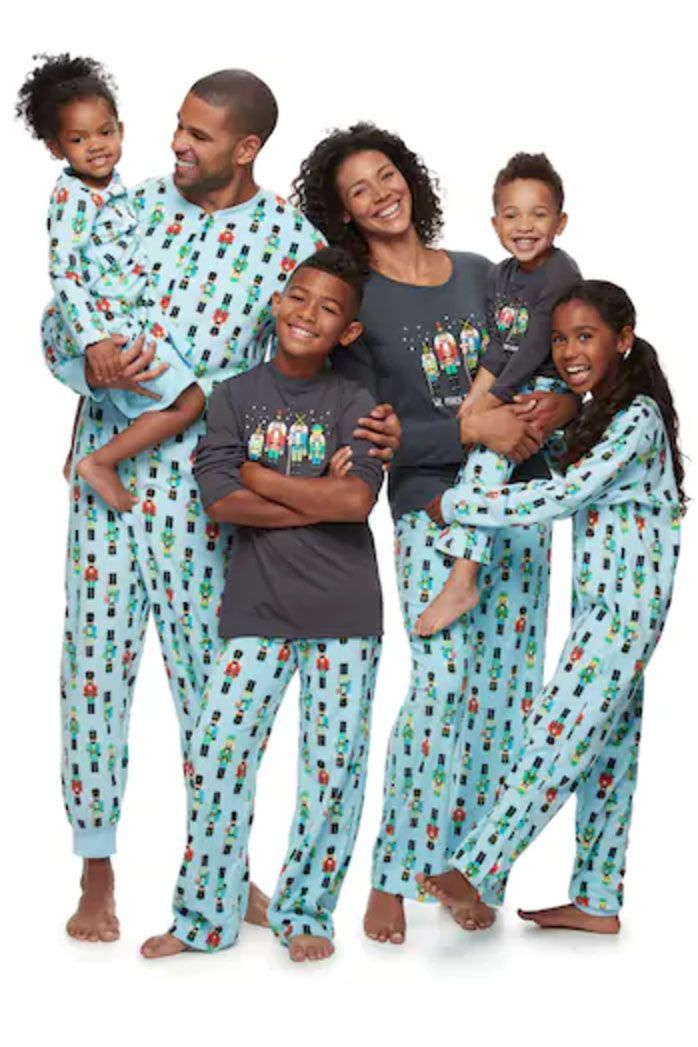 10 matching family christmas pajamas to celebrate in the coziest way possible - Cheap Family Christmas Pajamas