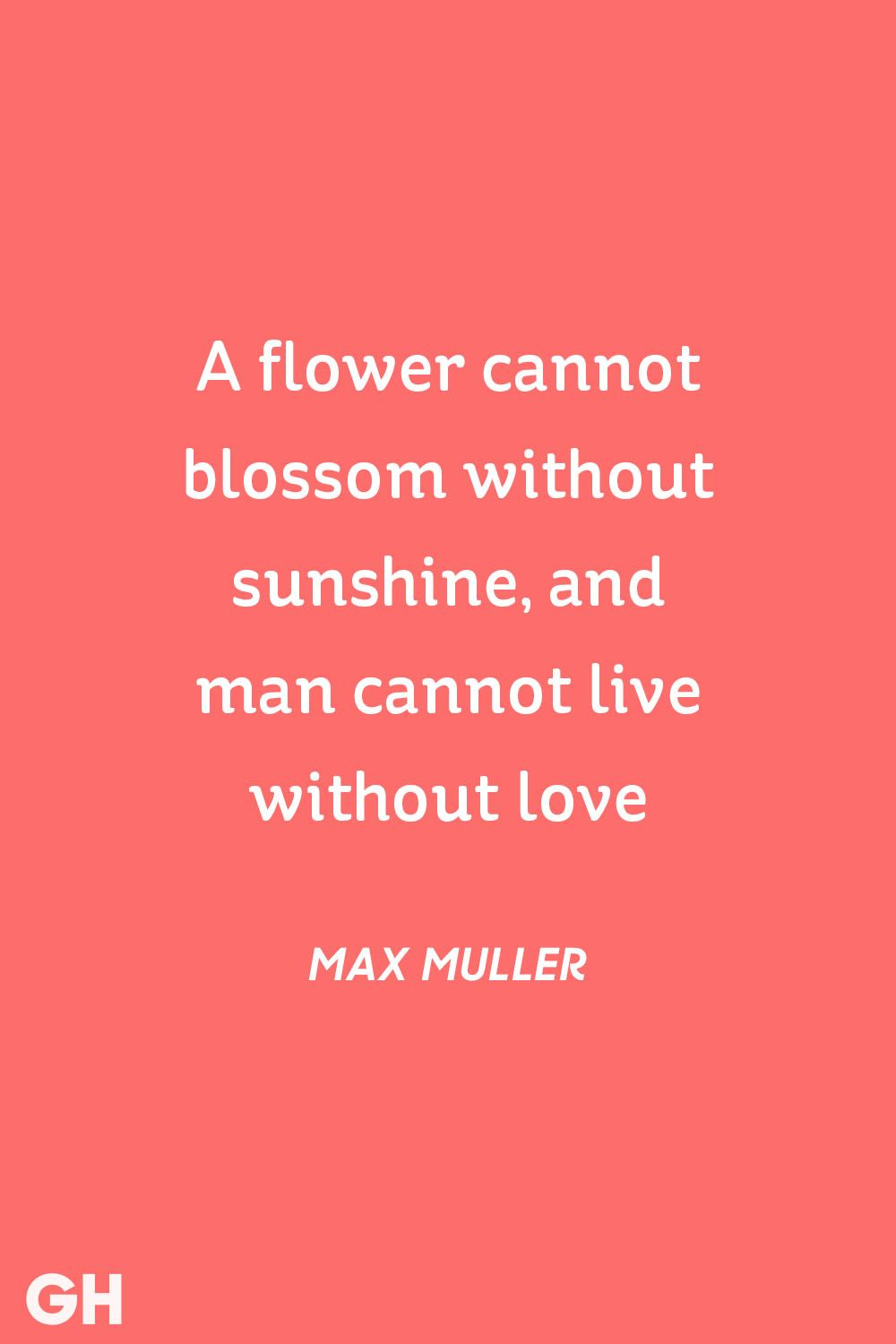 Max Muller Valentines Day Quote
