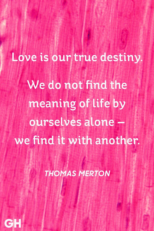 Thomas Merton Valentines Day Quote