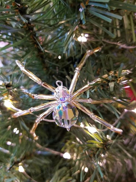 spider ornaments for christmas tree
