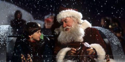 Facial hair, Santa claus, Beard, Fictional character, Christmas, Fur, Snow,