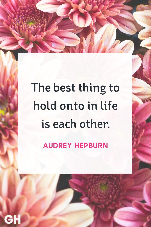 audrey hepburn love quote