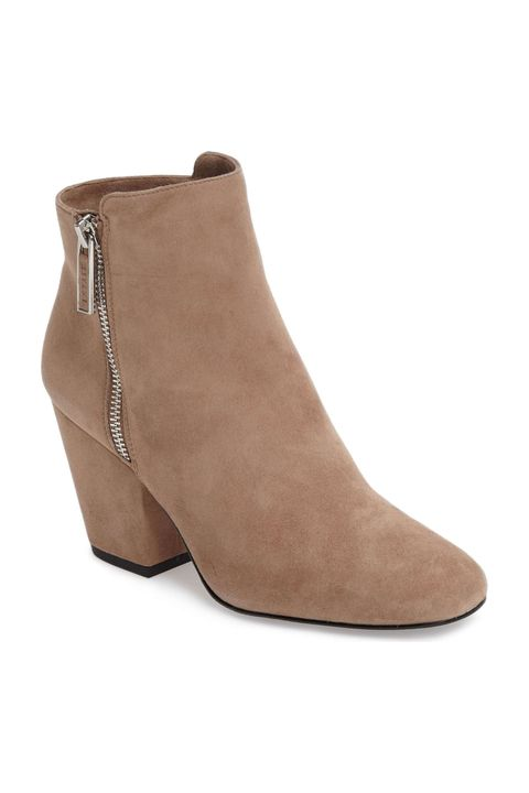 Footwear, Shoe, Brown, Boot, Beige, Leather, Tan, Suede, High heels, Fawn,