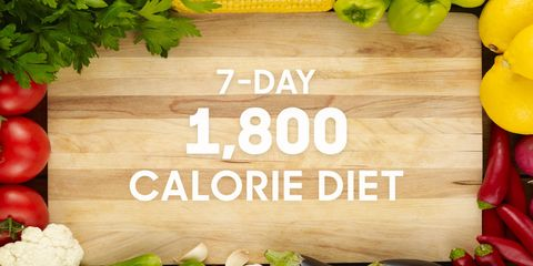 1800 calorie diet meal plan for 7 days lose up to 2 pounds a week