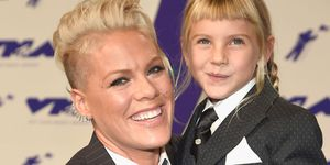 Pink and daughter Willow Sage Hart