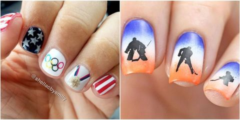 25 thanksgiving nail art designs ideas for november nails 12 olympic nail art ideas worthy of a gold medal solutioingenieria Images