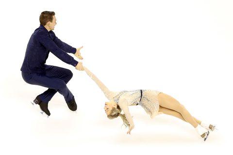 Alexa Scimeca-Knierim and Christopher Knierim at 2018 US Figure Skating Championships