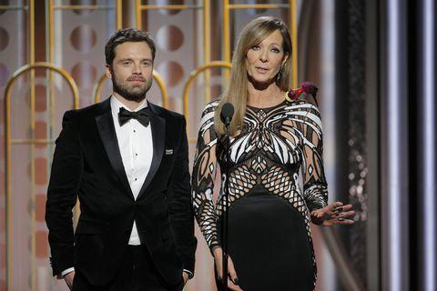 Allison Janney at Golden Globes 2018