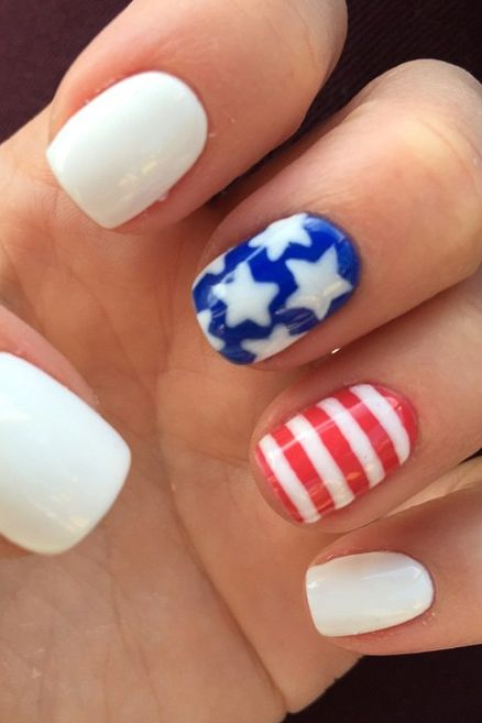 10 Olympic Nail Art Ideas That Deserve A Gold Medal