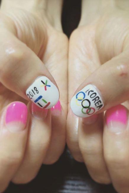 Nail polish, Nail, Finger, Nail care, Manicure, Cosmetics, Pink, Hand, Material property, Artificial nails,