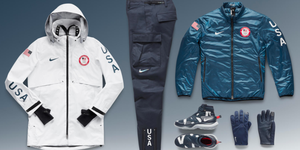 nike team usa medal stand collection