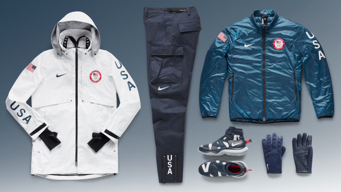 See The 2018 Us Olympic Team Outfits By Ralph Lauren And Nike