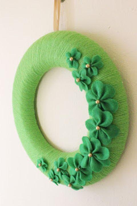 Felt Wreath - St. Patrick's Day Wreaths