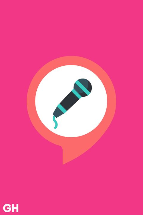 Pink, Font, Graphic design, Microphone, Magenta, Material property, Illustration, Circle, Logo, Icon,