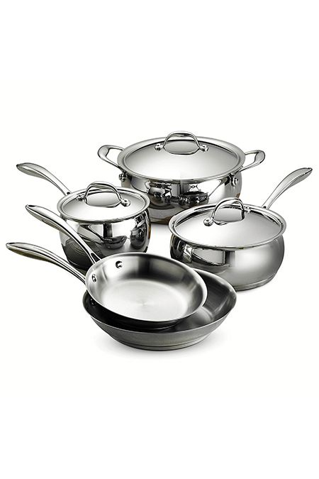 The Best Stainless Steel Cookware Sets Top Rated Stainless Steel