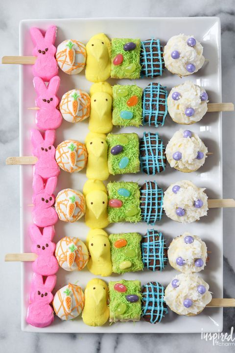 Peep Kabobs - Easter Treats