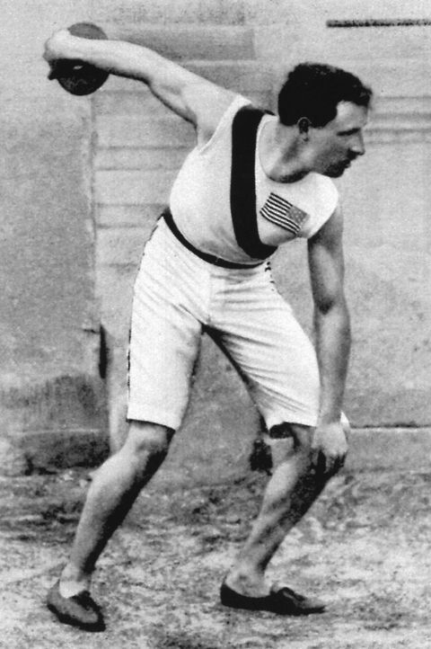1896 olympics in athens, greece