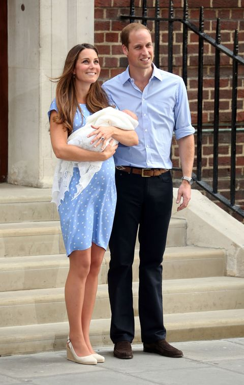 kate middleton prince george birth