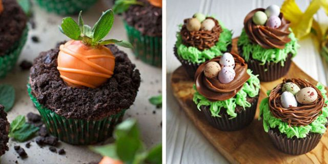 25 easy easter cupcake ideas cute recipes for spring cupcakes negle Images