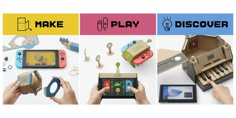 The Nintendo Labo kit is the newest add on to the Nintendo Switch
