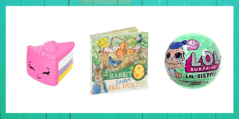 28 easter gift ideas for kids best easter baskets and fillers this year aim for the unconventional and try one of these clever easter baskets but of course what really counts is what goes inside negle Image collections