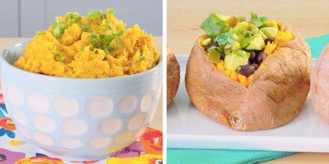 how to make sweet potatoes