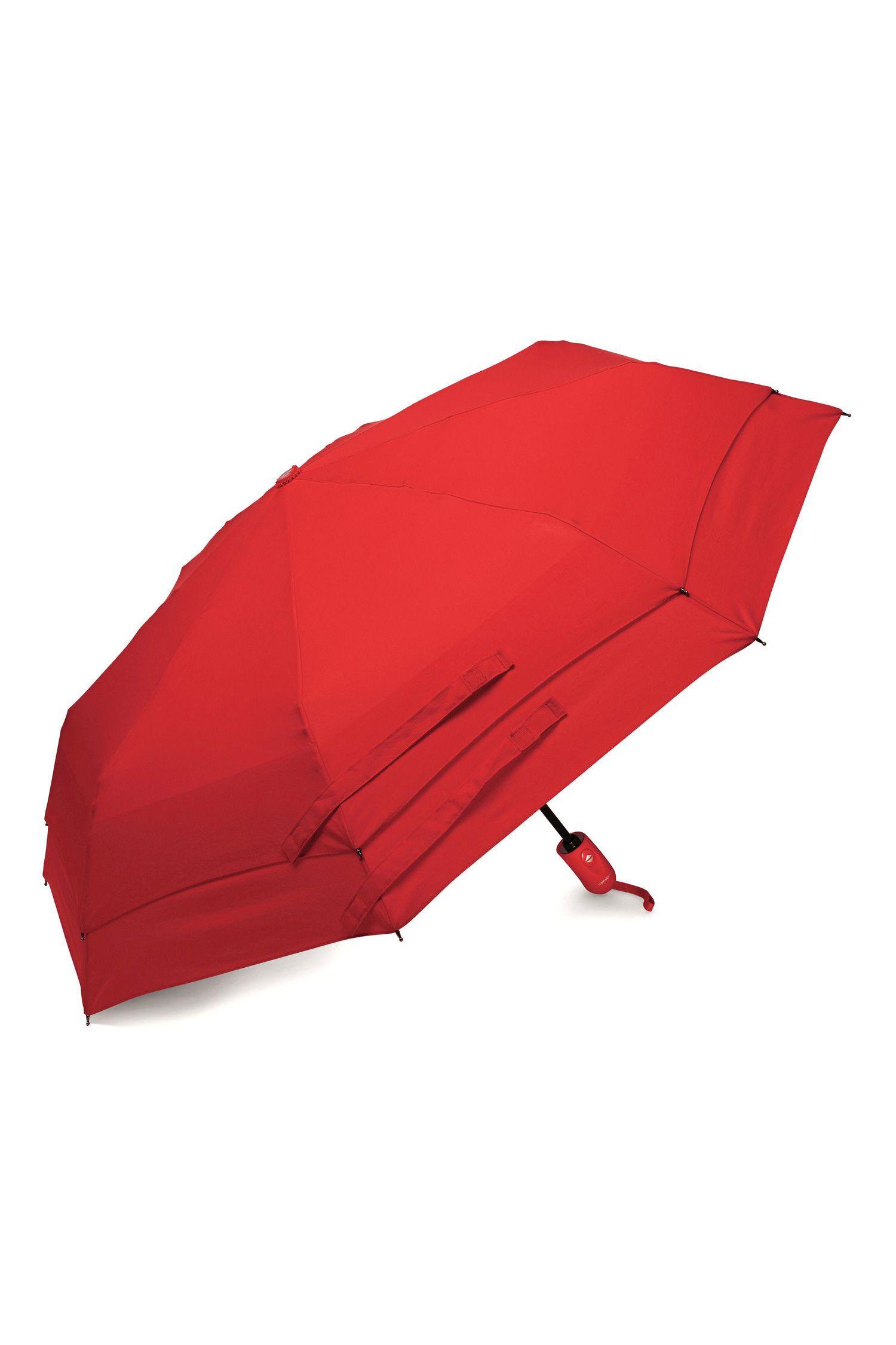 samsonite windguard auto open close compact umbrella