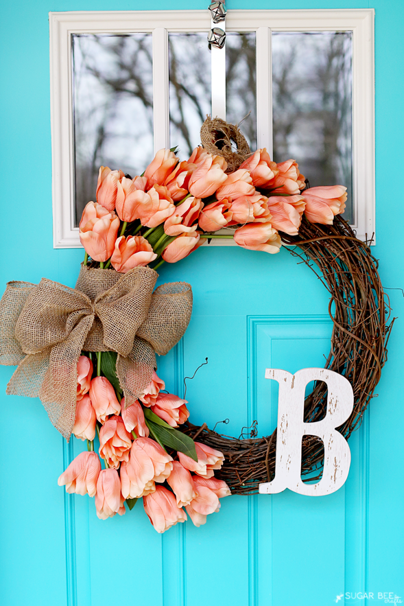 36 Gorgeous Easter Wreaths - Ideas for Easter Door Decorations to Make