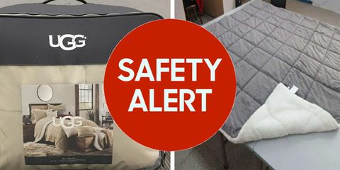 Bed Bed & Beyond recalled approximately 175,000 UGG Hudson comforters after mold was found inside.