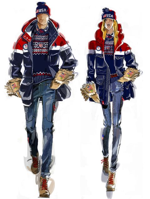 8639797414c See the 2018 U.S. Olympic Team Outfits by Ralph Lauren and Nike