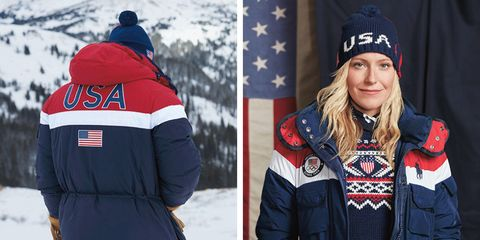 See The 2018 U S Olympic Team Outfits By Ralph Lauren And
