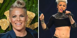 pink the singer diet