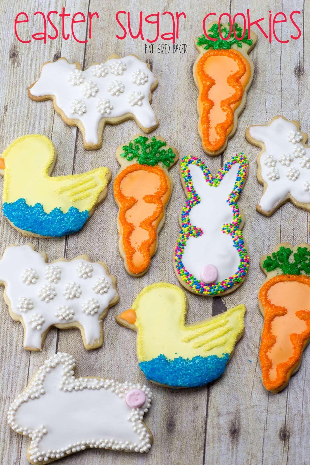 20 Cute Easter Cookies Best Easter Cookie Recipes