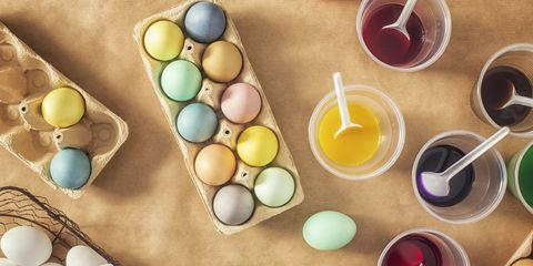 Is It Safe To Eat Dyed Easter Eggs