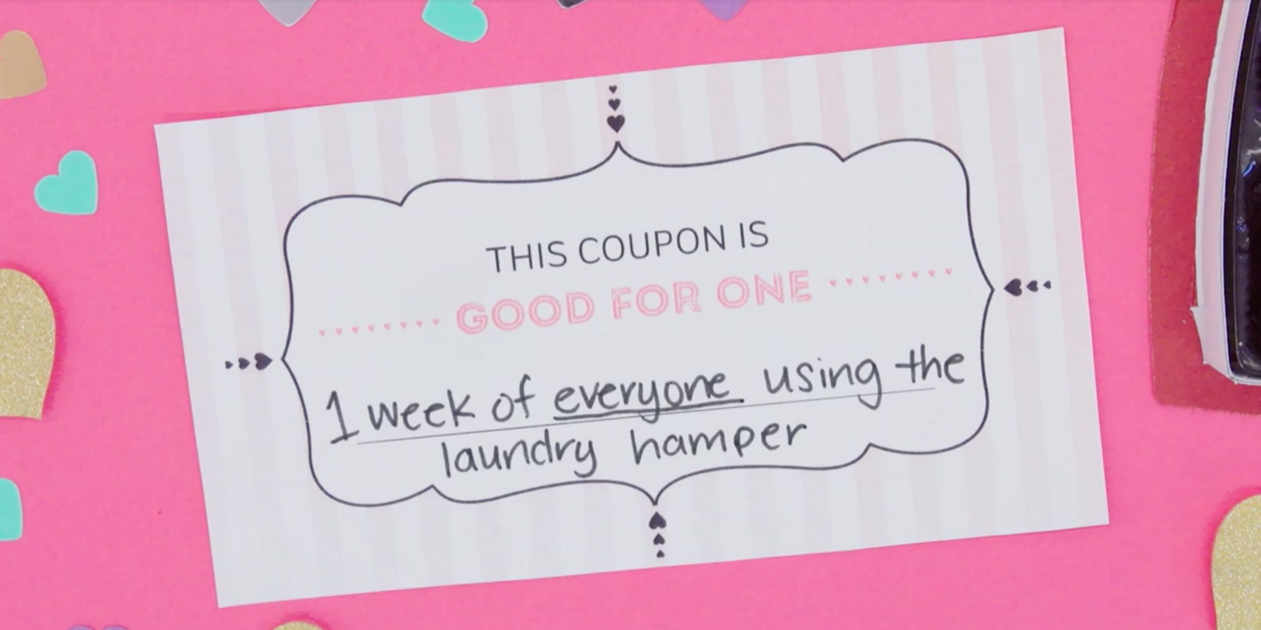 Funny Diy Romantic Gift Coupons Download These Customizable Love