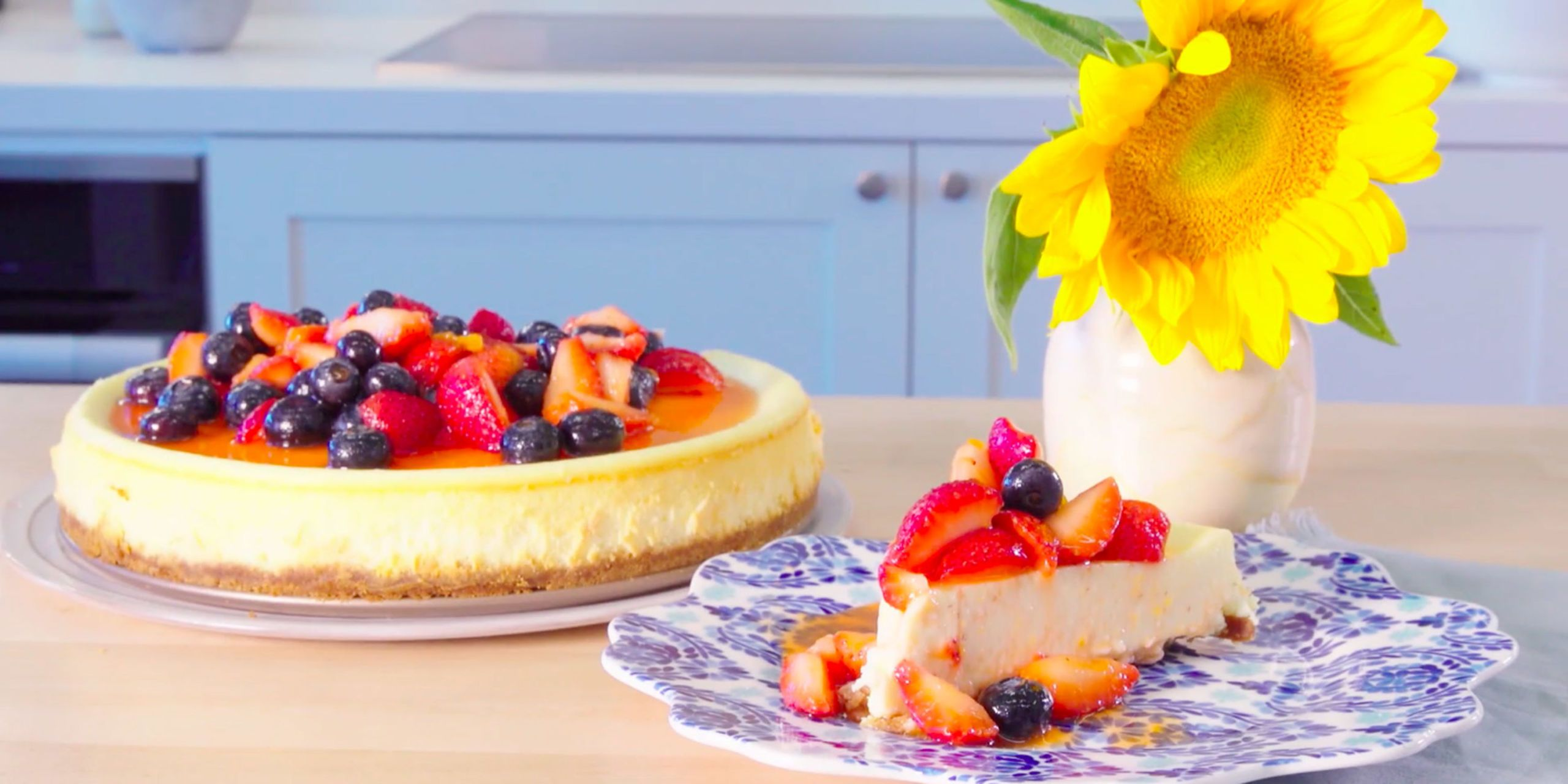 How to make cheesecake from scratch recipe