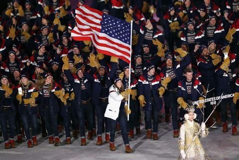 Outfits U.S. Olympians have worn to the Winter Games through the years.