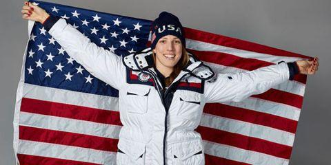 erin hamilin us flag bearer olympics