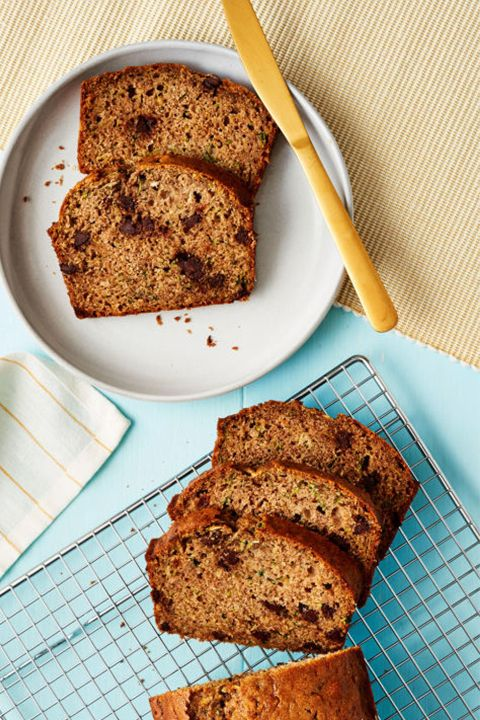 Zucchini Chocolate Chip Quick Breadgoodhousemag