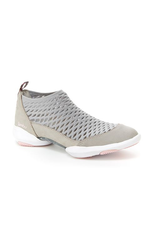 "<p>$99&nbsp;<a href=""https://jambu.com/item/dory-knit-sneaker-for-women/WJ18DRY?utm_source=Good%20Housekeeping&amp;utm_medium=Gallery&amp;utm_campaign=SP18&amp;utm_term=Dory"" target=""_blank"" class=""slide-buy--button"" data-tracking-id=""recirc-text-link"">BUY NOW</a></p><p>For days that have you dashing around town,&nbsp;a comfy, casual flat disguised as a low-top athletic shoe&nbsp;with rubber outsoles for major traction&nbsp;and knitted mesh that conforms to the shape of your foot is all you need. Powdery grays, crisp white and a feminine little pop of pink make it versatile (and perfect for spring).</p>"