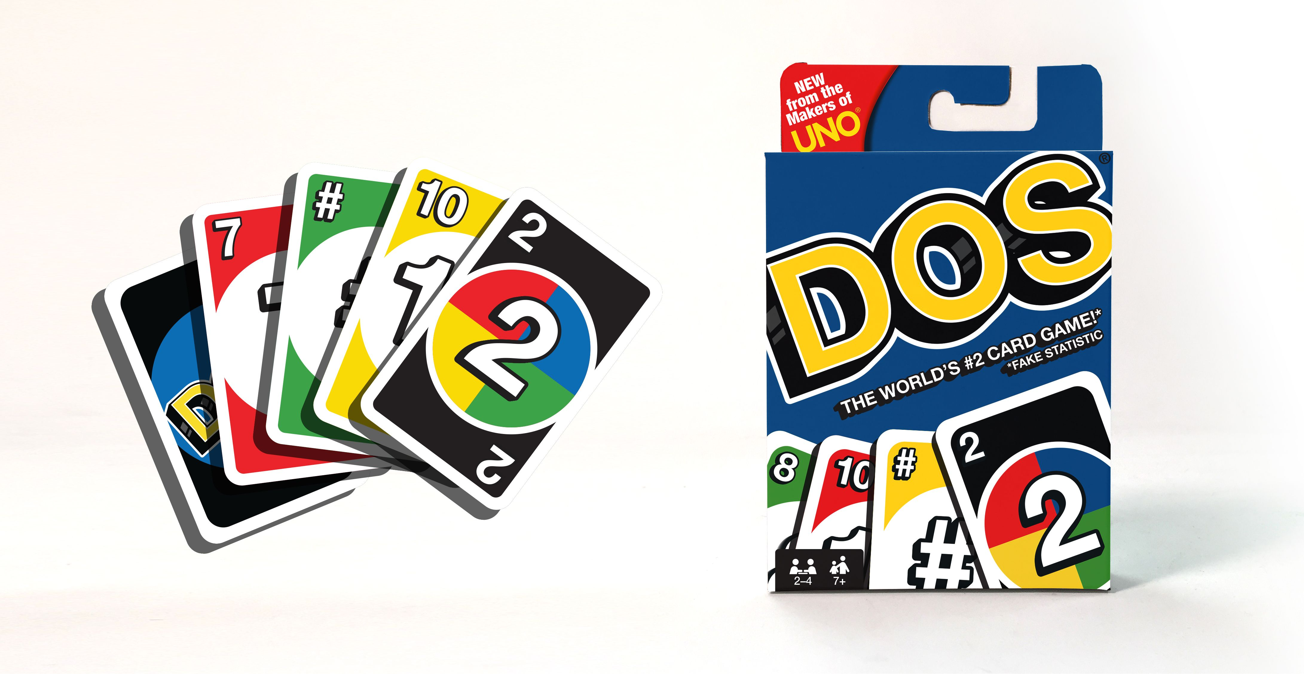 The Makers of UNO Are Releasing a Spinoff Game Called DOS
