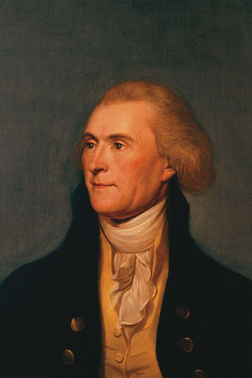 U.S. President Facts Thomas Jefferson Portrait