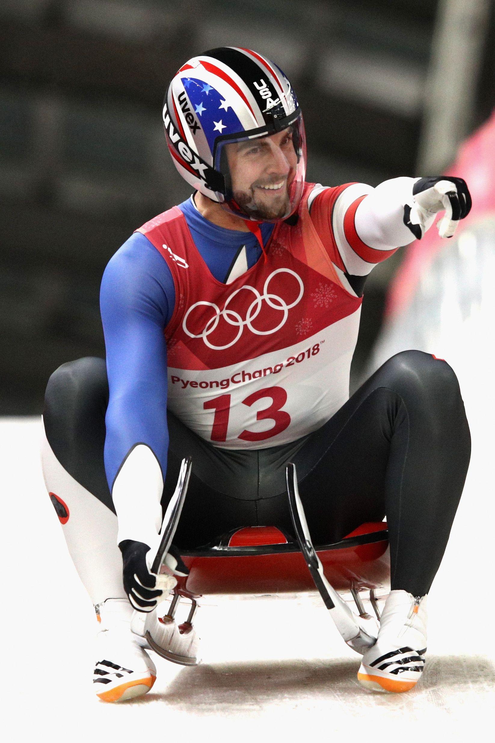 2018 winter olympics chris mazdzer